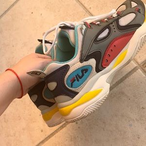 Fila Multicolor Sneakers 8.5